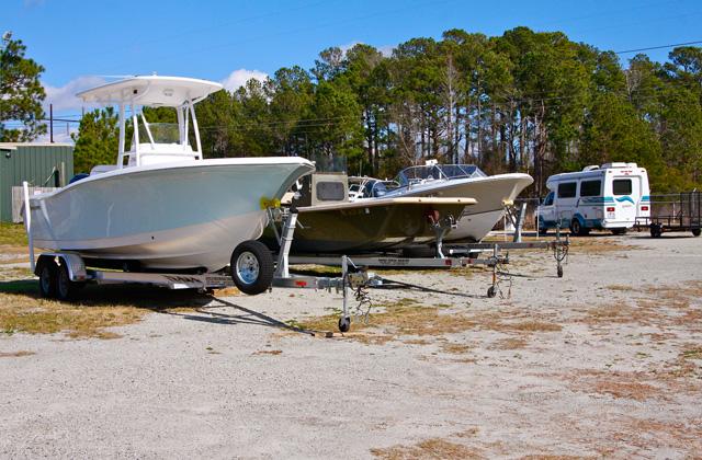 Uncovered Storage Boat Amp Rv Storage Wilmington Nc